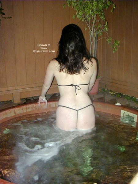 Pic #3 - Wicked Weasel in The Hot Tub