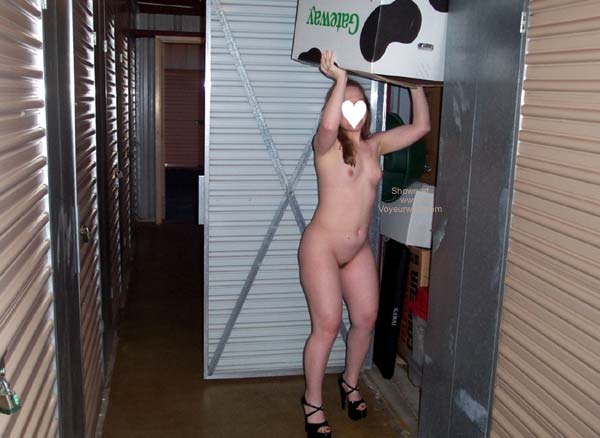 Pic #3 - More of Stephanie at Storage