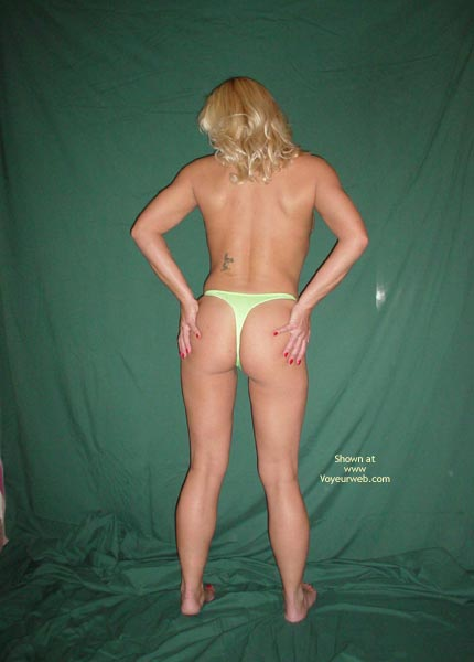 Pic #3 - Who Wants My Thong