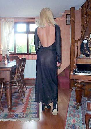 Pic #8 - See-Through Dress