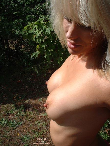 Pic #4 - Nikke Poses In Backyard
