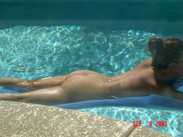Pic #4 - Relaxin By The Pool