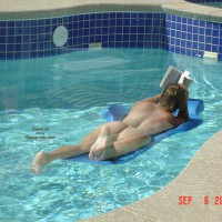 Relaxin By The Pool