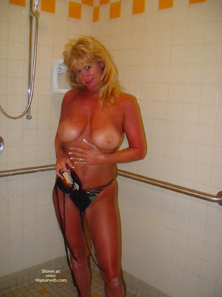 Pic #3 - *Sh Stormy In The Shower Part 1