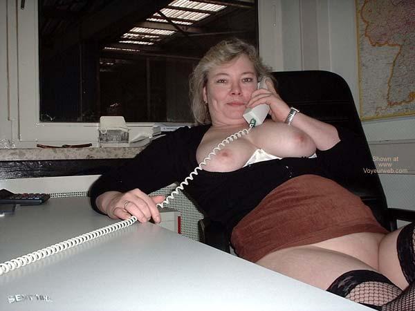 Pic #1 - Sexy Tina at Work 3