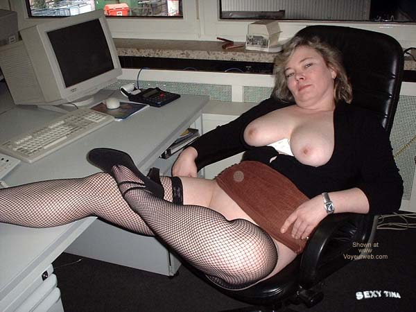 Pic #3 - Sexy Tina at Work 3