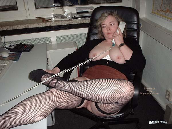 Pic #5 - Sexy Tina at Work 3