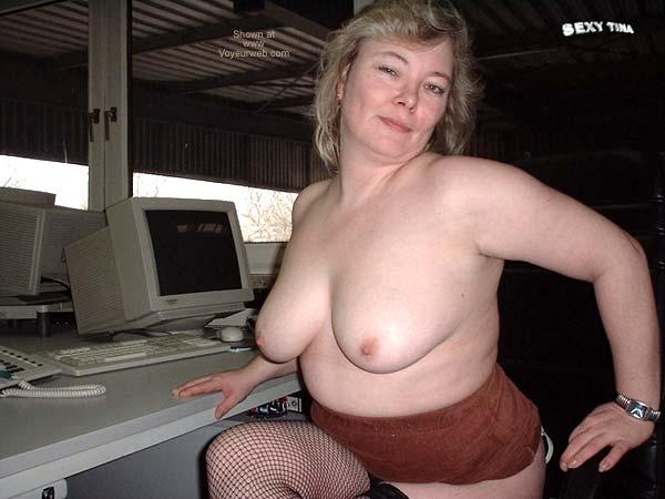Pic #6 - Sexy Tina at Work 3