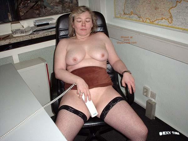 Pic #7 - Sexy Tina at Work 3