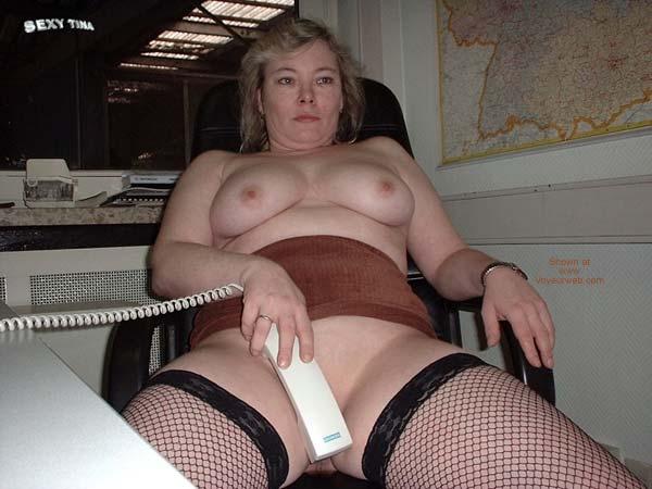 Pic #8 - Sexy Tina at Work 3