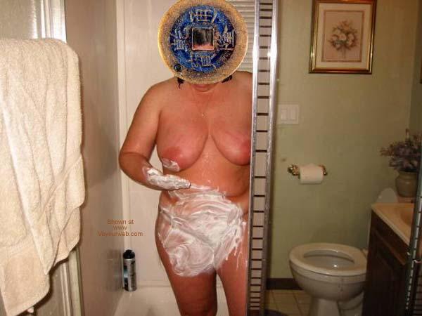 Pic #2 - Wife in Shaving
