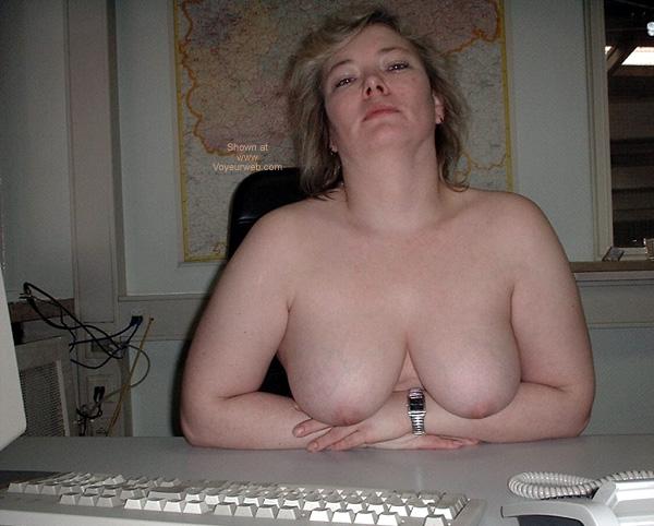 Pic #3 - Sexy Tina at Work 4