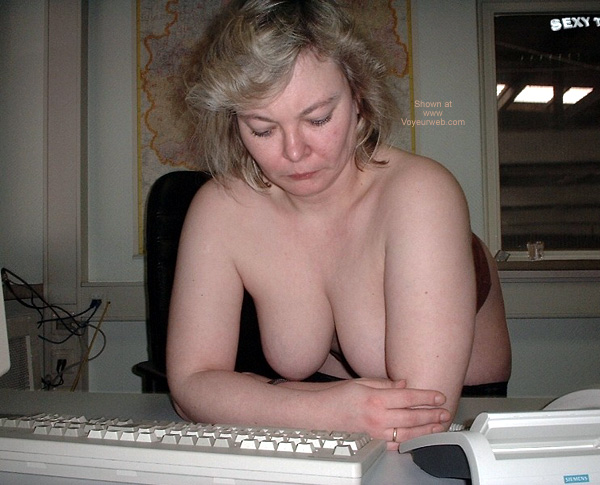 Pic #4 - Sexy Tina at Work 4