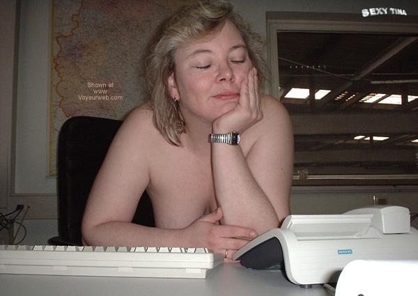 Pic #5 - Sexy Tina at Work 4