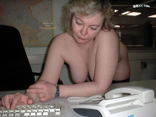 Pic #9 - Sexy Tina at Work 4