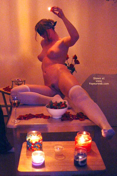 Pic #9 - Amanda In The Candlelight! 2 Of 2