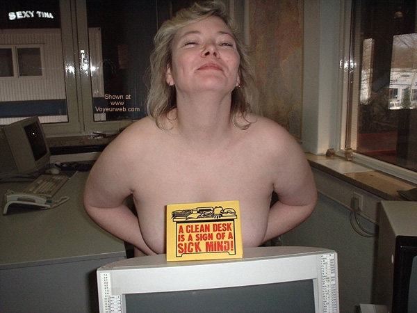 Pic #6 - Sexy Tina at Work 5