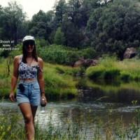 Wife Hiking