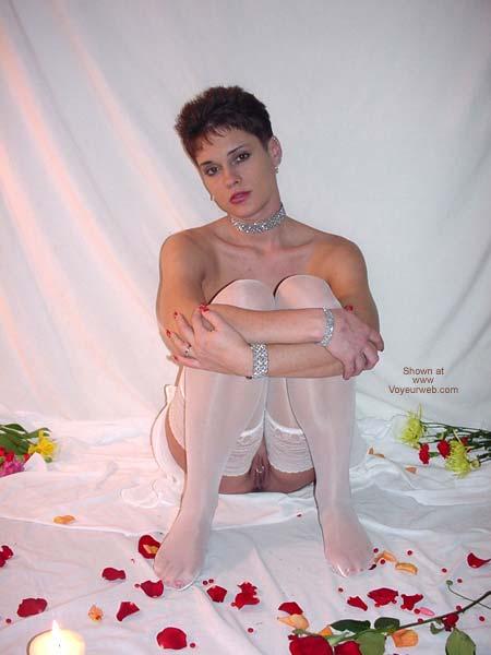 Pic #3 - Rhonda in White