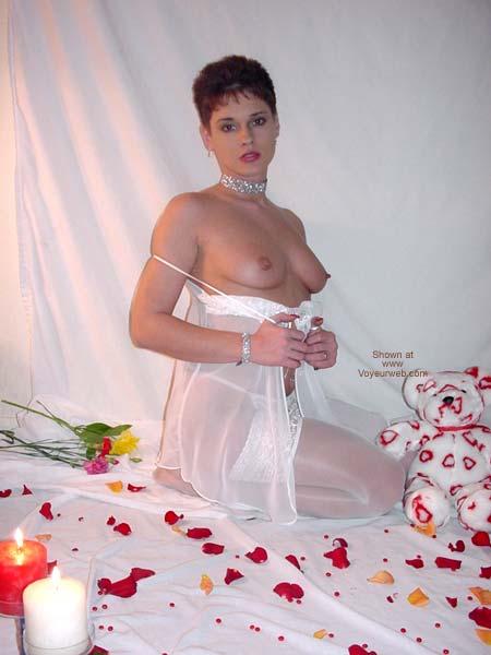 Pic #5 - Rhonda in White