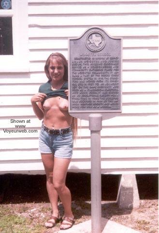 Pic #1 - Amber Visits Historic Park