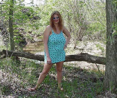 Pic #1 - Big Boobs Having Fun in The Sun!