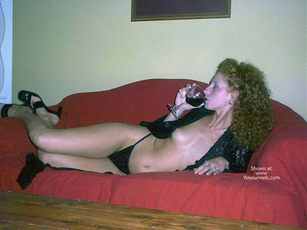 Pic #3 - Cleo and Her Wine