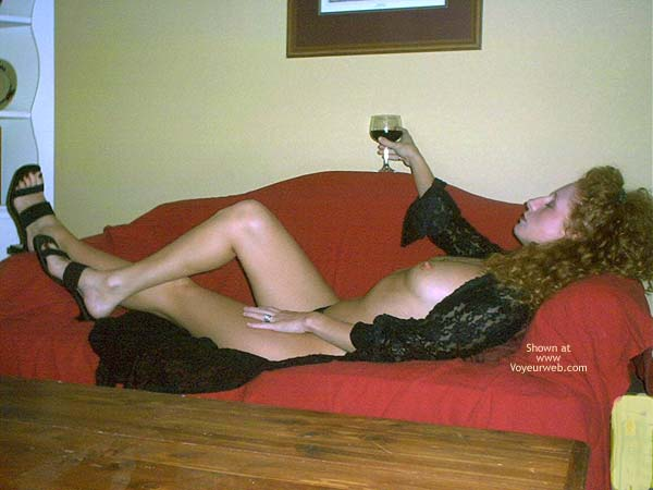 Pic #4 - Cleo and Her Wine