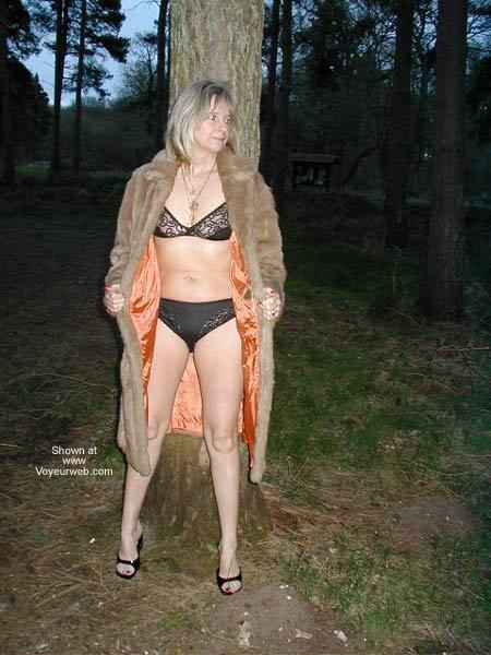 Pic #3 - Karen in Thetford Forest