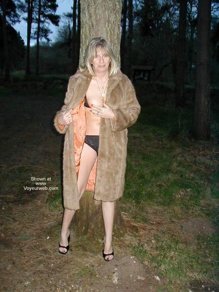 Pic #5 - Karen in Thetford Forest