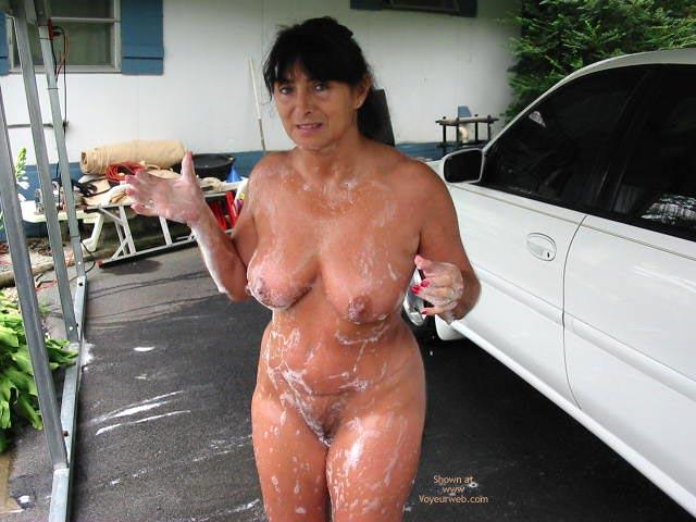 Pic #7 - Victoria Washing Car