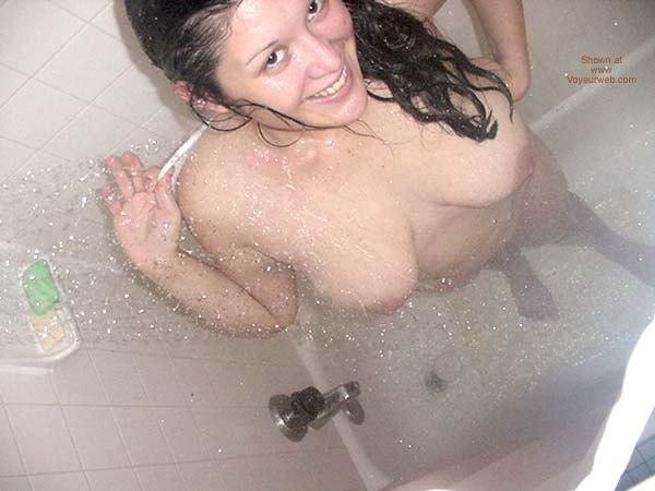 Pic #3 - Spicy in Shower!