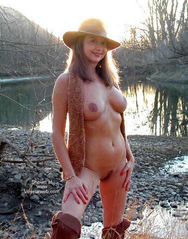 Pic #10 - Natalie On The River Bank