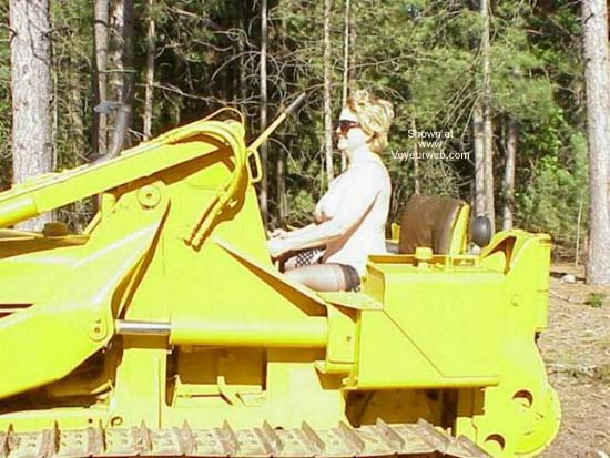 Pic #3 - Old Enough to Operate Heavy Equipment