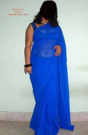 Pic #1 - Big Boob Indian Girl Saree Strip!