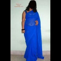 Big Boob Indian Girl Saree Strip!