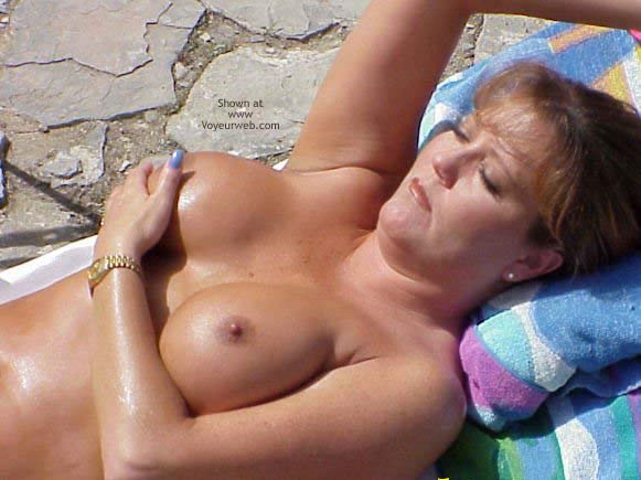 Pic #3 - *PA Sara Needs Help Getting Oiled Up!
