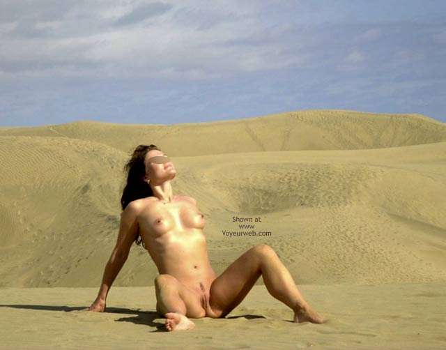 Pic #6 - In Hot Sand