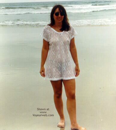 Pic #2 - Wife at Beach