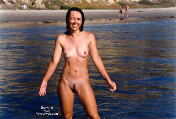 Pic #7 - Wife at Beach