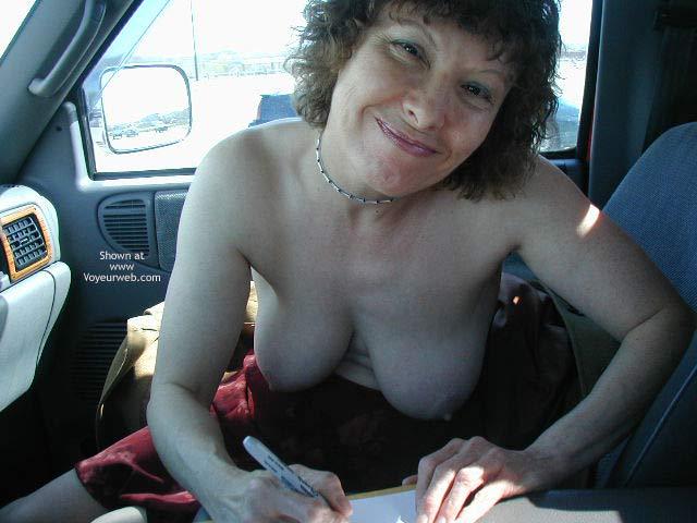 Pic #1 - Diane Warming up to Flash