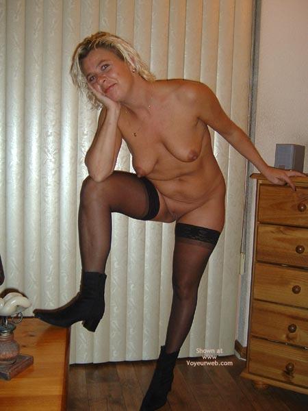 Pic #10 - 38yo Dutch  Black Dress, Black Stockings