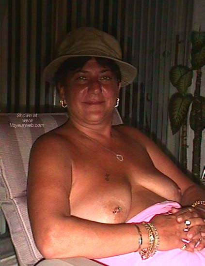 Pic #3 - Dee Gets Nipple Pierced