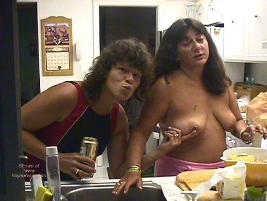 Pic #4 - Dee Gets Nipple Pierced