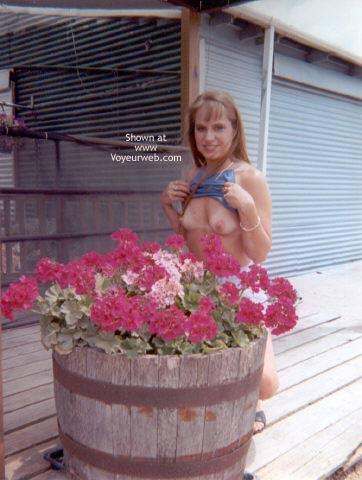 Pic #4 - Amber Visits Winnie, TX