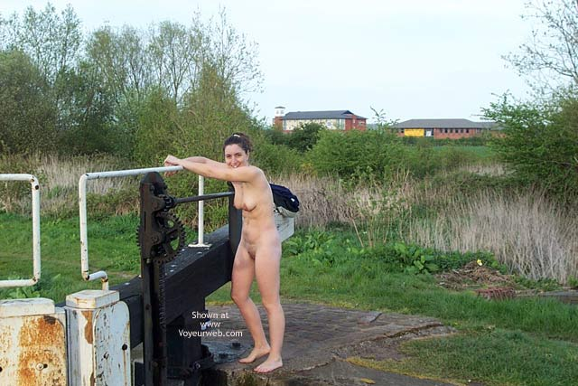 Pic #1 - Wife at The Canal