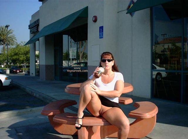 Pic #1 - SuzyQ @ Starbucks!