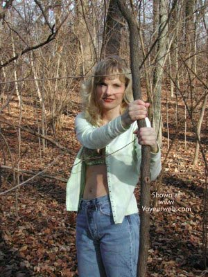 Pic #1 - Paige in The Woods