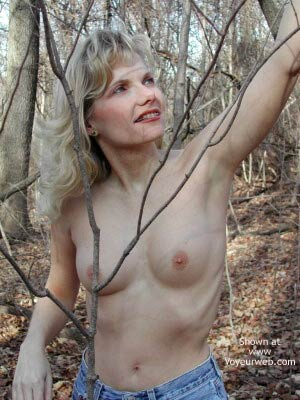 Pic #4 - Paige in The Woods