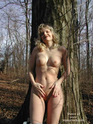 Pic #6 - Paige in The Woods